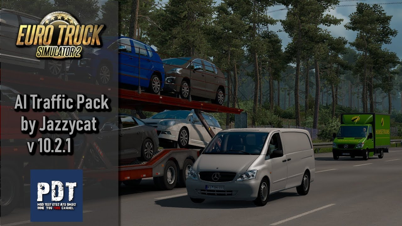 AI Traffic Pack by Jazzycat v 10 2 1 | ETS 2 mods