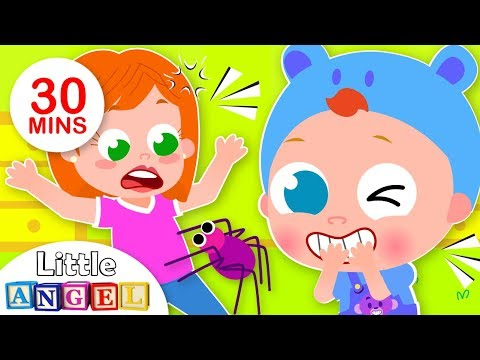 Free Download I Tricked You, 5 Little Puppies Finger Family, Itsy Bitsy + More Fun Songs For Kids By Little Angel Mp3 dan Mp4