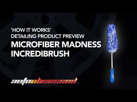 How to use the Microfiber Madness Incredibrush to clean alloy wheels