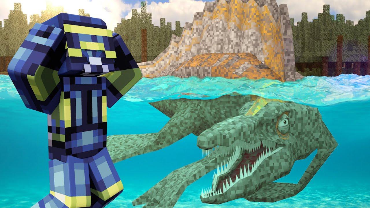 minecraft dinosaurs jurassic craft roleplay ep 80 largest water dinosaur minecraft. Black Bedroom Furniture Sets. Home Design Ideas