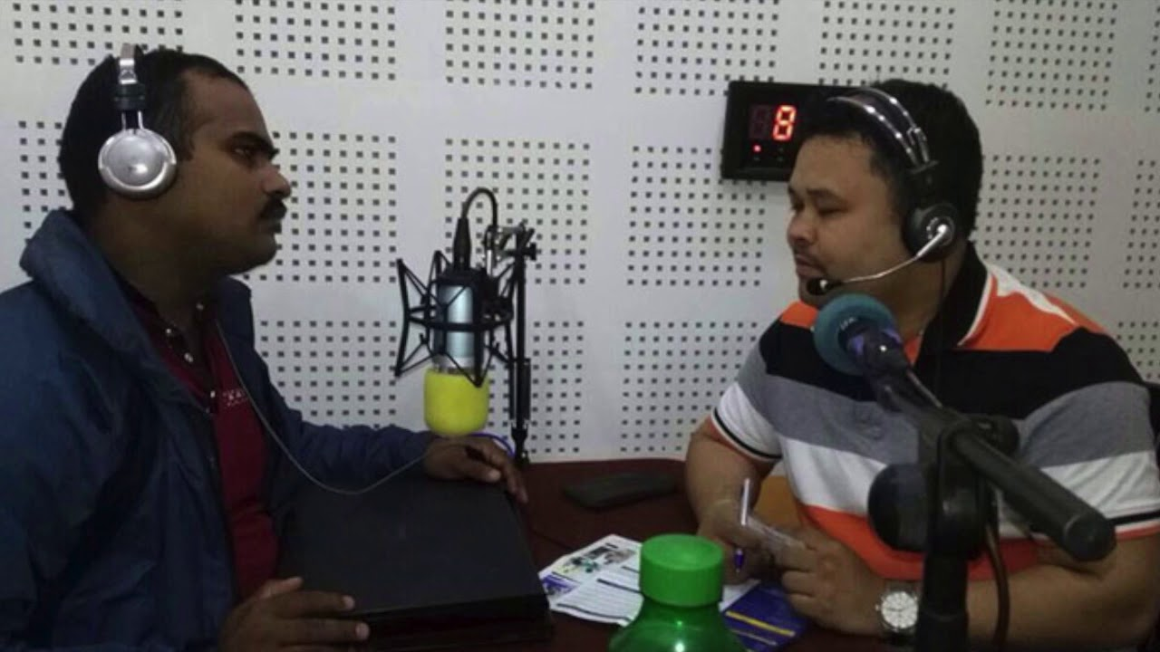 Biz FM 94 9 in conversation with Mr  Subash Thapa, Admission Manager at  Webster University Thailand