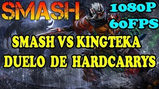 SMASH LE DA CLASES DE COMO SER HC A KINGTEKA FULL HD 60FPS  ...