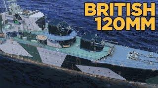 British 120mm - World of Warships