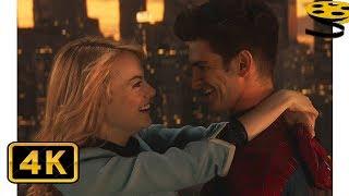 Разговор Питера и Гвен на Мосту | Новый Человек-паук: 2 (2014) | 4K ULTRA HD