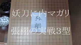 妖刀の内マガリ 張栩の実戦3型 MR囲碁1442