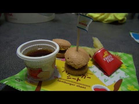 Kracie Happy kitchen hamburger ハッピーキッチン ハンバーガー