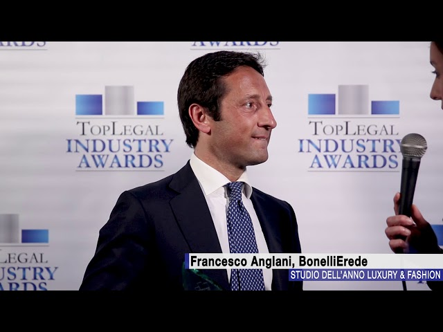 Francesco Anglani, BonelliErede - TopLegal Industry Awards 2018