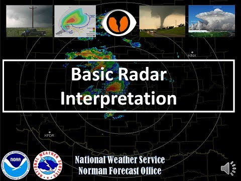 Topics In Advanced Spotter Training - Basic Radar Interpretation