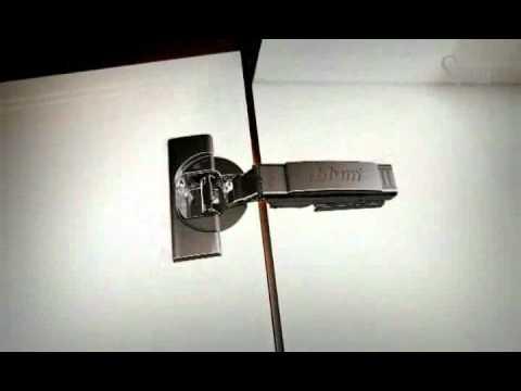 Bisagras autom ticas para la cocina con sistema de amortiguaci n youtube - Bisagras para muebles de cocina ...
