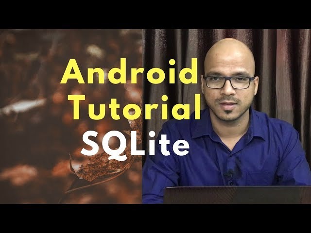 SQLite in Android Studio