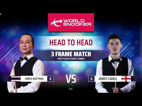[มาหัดแทงสนุ๊กกันเถอะ] World Snooker 19 เล่นครั้งแรกไม้เดียวหมดโต๊ะ