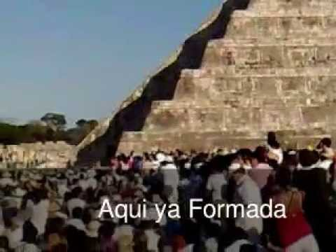 Chichen Itza Serpiente Bajando 2011 Youtube