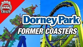 The Former Coasters of Dorney Park