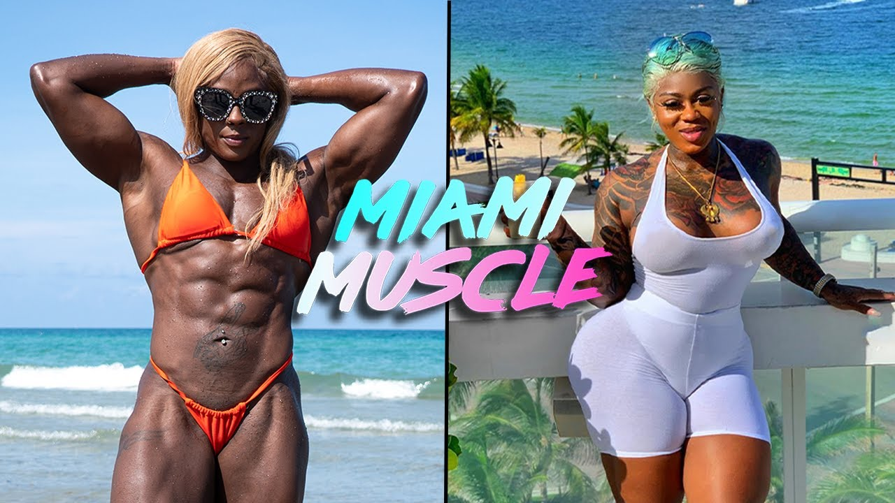 Female Hulk V Muscle Queen | MIAMI MUSCLE