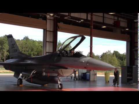 Air National Guard Alert Force Scrambles During an Interview