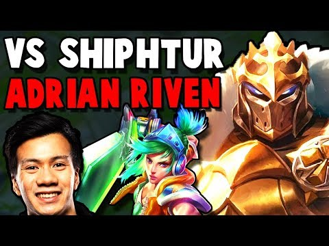 ADRIAN RIVEN AND SHIPHTUR TROLLING?? WHY DID THEY PICK THIS BOT LANE..? - Preseason To RANK 1