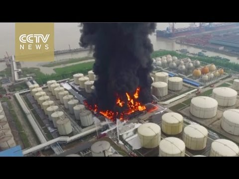 Chemical factory explodes in east China, no casualty reported