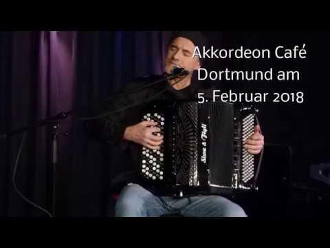 Jordan Djevic im Akkordeon Café Dortmund am 5.2.2018