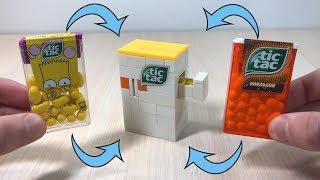 How to build Mini LEGO Tic Tac machine