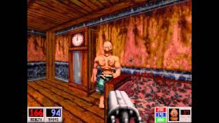 Blood: Cryptic Passage (DOSBox) - E5M1 Boat Docks - All Secrets - HD 720p