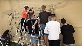 Performance participative au lycée cantonal de Porrentruy