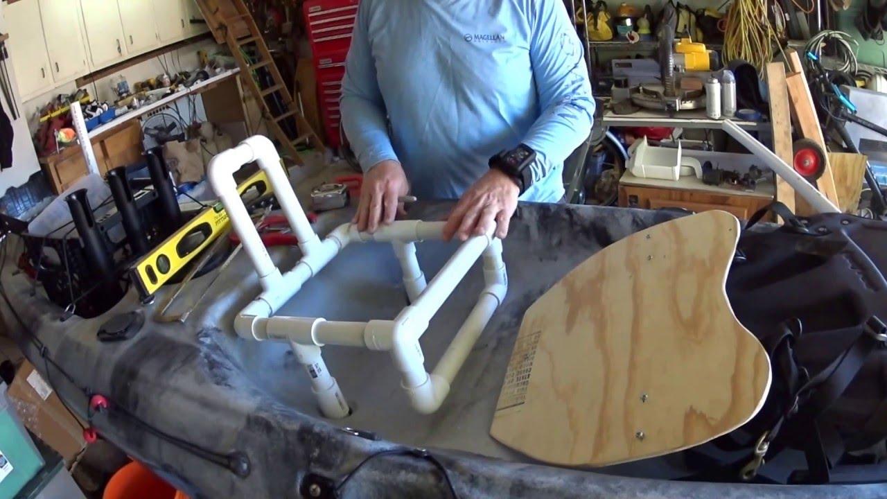 Magellan Fishing Chair Arm Protectors With Pockets Raised Custom Kayak Seat Youtube
