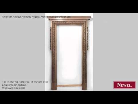 American Antique Archway Federal Architectural Elements