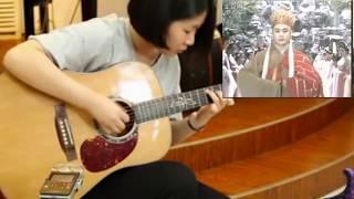 Tình Nhi Nữ - Guitar solo TAB 女吉他手涂涂《女儿情》朱丽叶指弹吉他独奏吉他弹唱吉他教程—在线播放—优酷网,视频高清在线观看