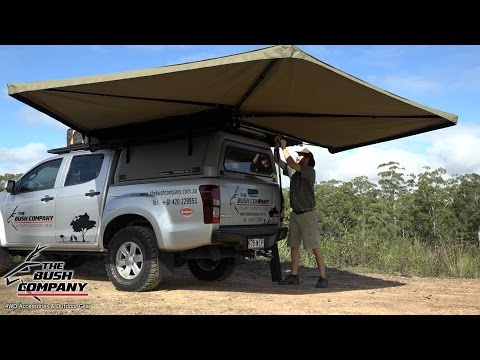 270 Degree Gull Wing Awning Review - The Bush Company - 4wd Accessories