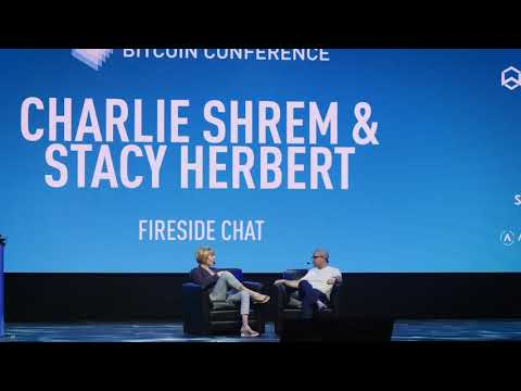 Stacy Herbert & Charlie Shrem  - Fireside Chat  - The North American Bitcoin Conference 2018