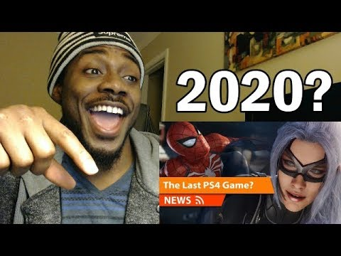Marvels Spider-Man 2 2020 Release Date! Last PS4 Game? REACTION & REVIEW