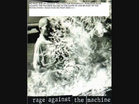 Rage against the Machine Christmas Number 1