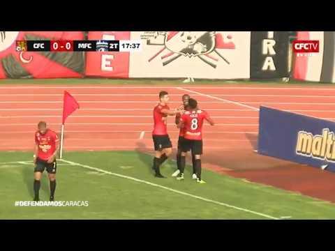 Gol Richard Celis Caracas FC 1-0 Metropolitanos FC Apertura 2019 - Javier Rivera - Deportiva 1300 AM
