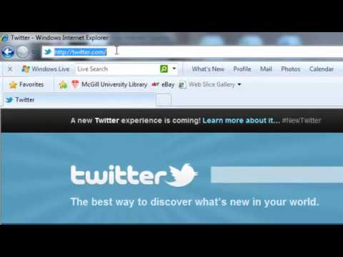 Online Banking & Twitter
