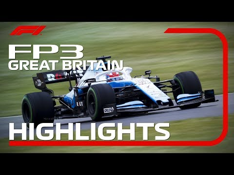 2019 British Grand Prix: FP3 Highlights