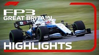 2019 British Grand Prix: FP3 Highlights