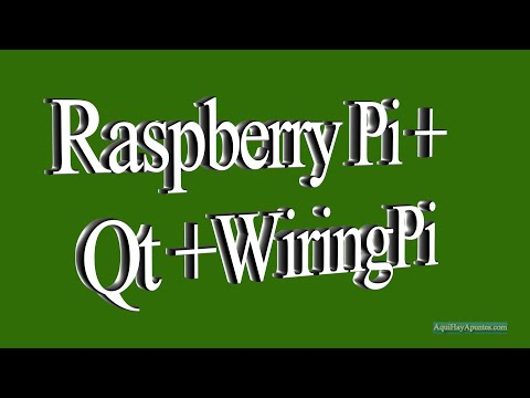 Raspberry Pi + Qt + WiringPi