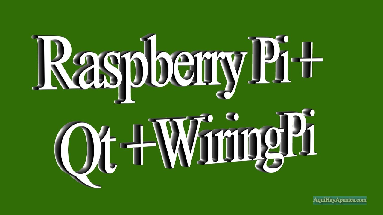 raspberry pi qt wiringpi youtube rh youtube com wiring pigtails connectors wiring pigtails texas