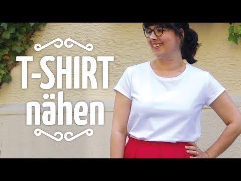 T-Shirt nähen // Nähen für Anfänger