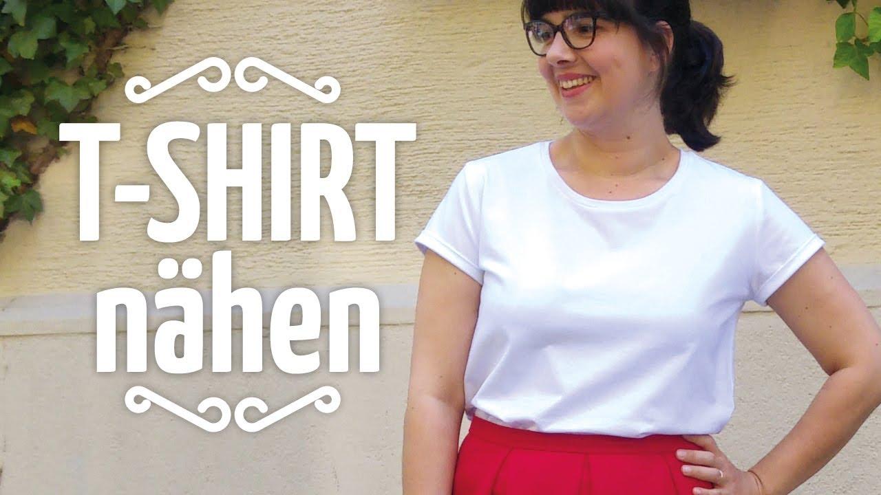 T Shirt Nähen Nähen Für Anfänger Youtube