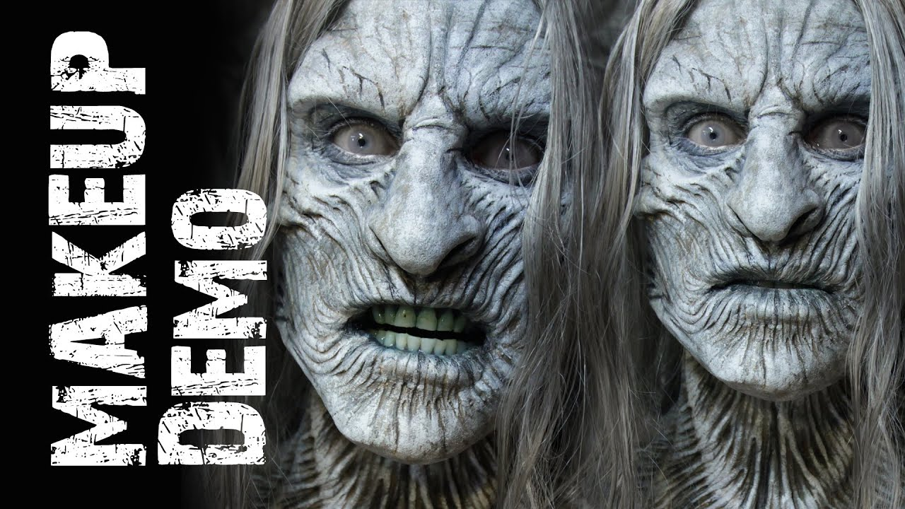 White Walker Makeup Demo With Thomas E Surprenant Youtube