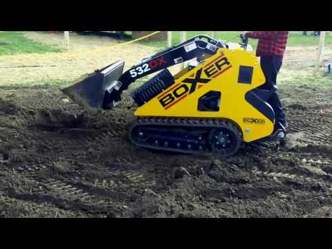 2006 Boxer Brute 427 Rubber Tracked Mini Skid Steer Loa ...