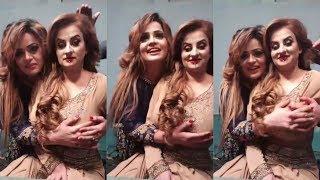 Afreen Khan & Naughty Pakistani Mujra Actress Talking To Fans