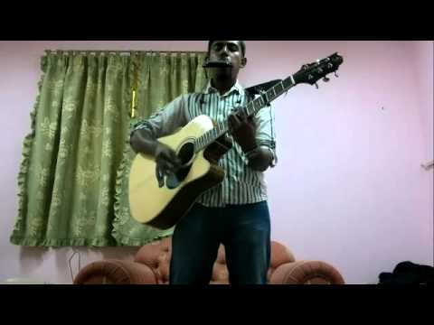 saruva logathiba namaskaram in harmonica + guitar