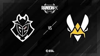 G2 Esports vs. Team Vitality – Bank – Rainbow Six Pro League – Season X – EU