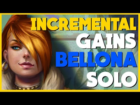 Incremental Gains & How To Use A Lead | SMITE Solo W/ Bellona