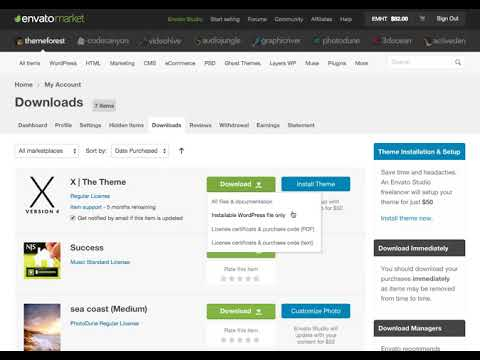 Where Is My Purchase Code? – Envato Market Help Center