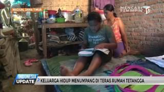 Ibu & 2 Anak Ini Hidup Menumpang di Teras Tetangga