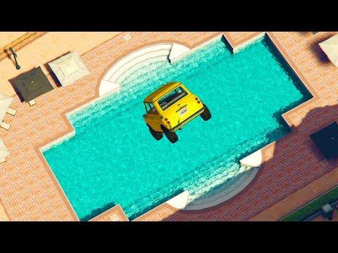 CUIDADO CON LA PISCINA! - CARRERA GTA V ONLINE - GTA 5 ONLINE