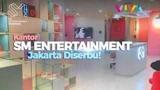 Lihat-lihat Kantor SM Entertainment di Jakarta